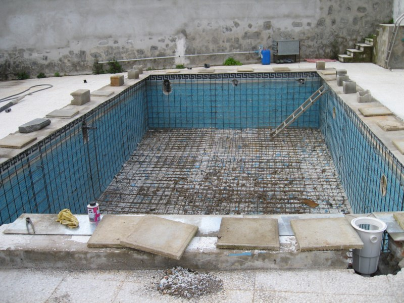 dise o estructural de una piscina casa dise o